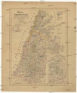Karte von Palestina