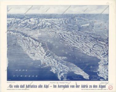 Im Aeroplan von der Adria zu den Alpen
