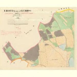 Lhotta untern Gebirg - c3936-1-001 - Kaiserpflichtexemplar der Landkarten des stabilen Katasters
