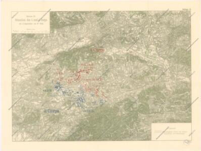 Soubor vojenských map 1900 - 1910