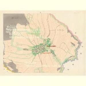 Schweine (Swinow) - m1030-1-004 - Kaiserpflichtexemplar der Landkarten des stabilen Katasters