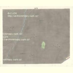 Ostrawitz - m2189-1-042 - Kaiserpflichtexemplar der Landkarten des stabilen Katasters