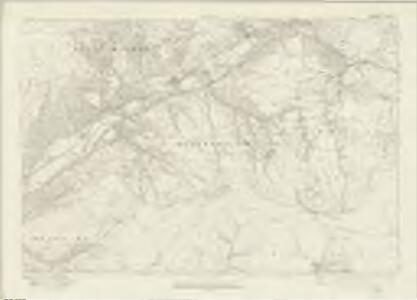 Brecknockshire XLIX - OS Six-Inch Map