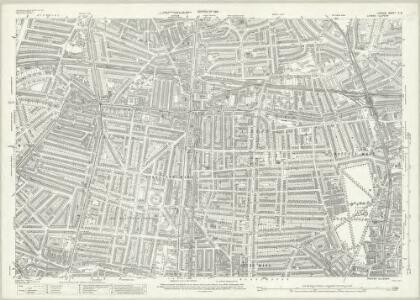 London (1915- Numbered sheets) V.3 (includes: Hackney; Islington; Shoreditch; Stoke Newington) - 25 Inch Map