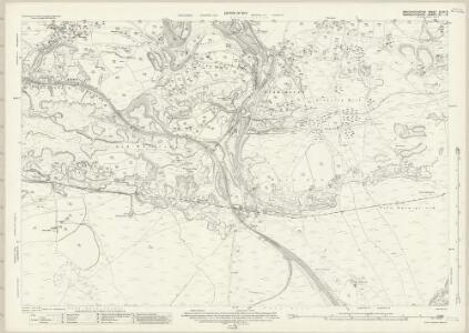 Brecknockshire XLVII.8 (includes: Aberystruth; Blaenafon; Bryn Mawr; Llanelli) - 25 Inch Map