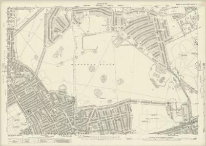 Essex (New Series 1913-) n LXXVIII.14 (includes: Cann Hall; East Ham; Wanstead; West Ham) - 25 Inch Map