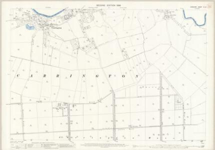 Cheshire IX.9 (includes: Carrington; Urmston) - 25 Inch Map
