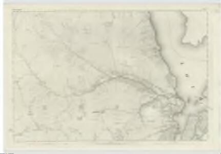 Dumbartonshire, Sheet X - OS 6 Inch map