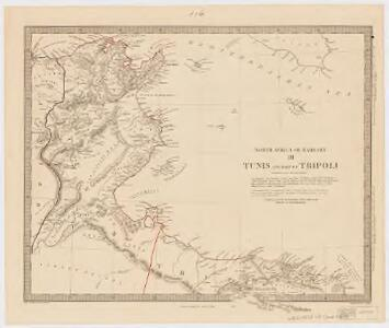 North Africa or Barbary : Tunis and part of Tripoli