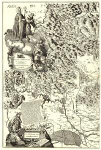 Diocesi Padovana con tutta la sua Estensione ne Vicini Territori