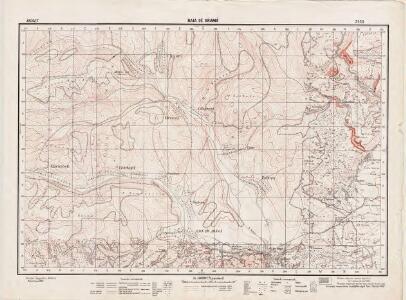 Lambert-Cholesky sheet 2550 (Baia de Aramă)