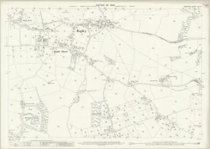 Hampshire and Isle of Wight XLII.12 (includes: Ropley) - 25 Inch Map