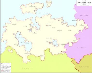 Land Thüringen 1928
