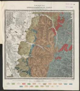 [Geologische Karte der Umgebungen von Lahr und Offenburg]