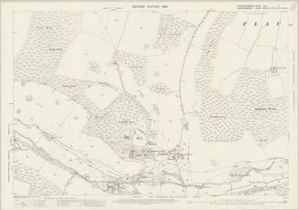 Buckinghamshire XLIII.3 (includes: Amersham; Chenies; Flaunden; Latimer) - 25 Inch Map