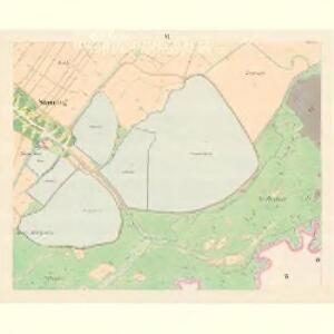 Stauding (Studenka) - m2931-1-006 - Kaiserpflichtexemplar der Landkarten des stabilen Katasters