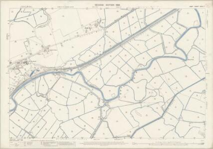 Kent XXXVI.7 (includes: Chislet; Stourmouth; Wickhambreux) - 25 Inch Map