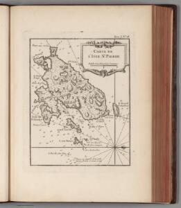 Carte de l'Isle St. Pierre