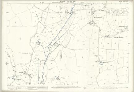Essex (1st Ed/Rev 1862-96) XIV.16 (includes: Broxted; Great Easton; Thaxted) - 25 Inch Map