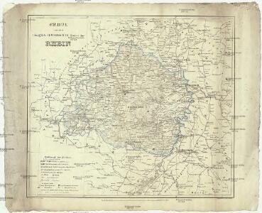 Charte von dem königlich Bayerschen Kreise des Rhein