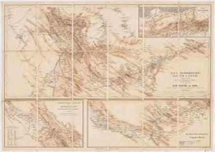 Prof. C. Haussknecht's Routen im Orient 1865-1869 : III. Kurdistan und Irak