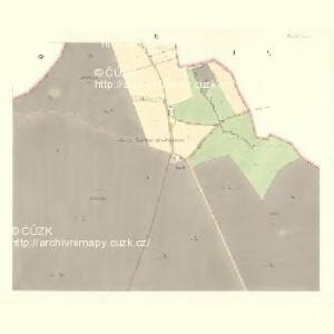 Tinischt (Tinisst) - c8155-1-002 - Kaiserpflichtexemplar der Landkarten des stabilen Katasters