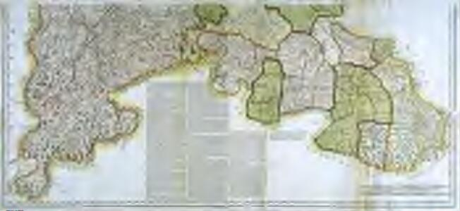 Mapa geografico de la provincia de Salamanca, 2