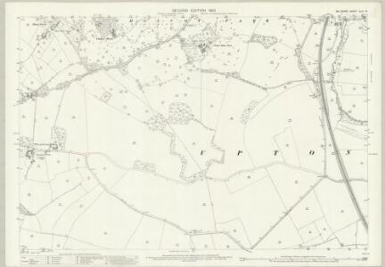 Wiltshire XLIV.15 (includes: Chapmanslade; Corsley; Dilton Marsh; Upton Scudamore; Westbury) - 25 Inch Map