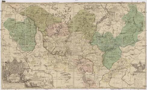 Land-Charte des Chvrfürstenthums Brandenburg