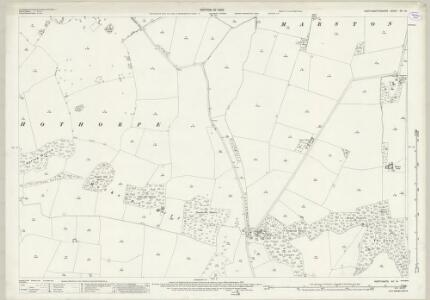 Northamptonshire XV.14 (includes: Marston Trussel; Sibbertoft; Theddingworth) - 25 Inch Map