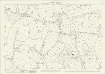 Kent LXXIX.2 (includes: Rolvenden) - 25 Inch Map