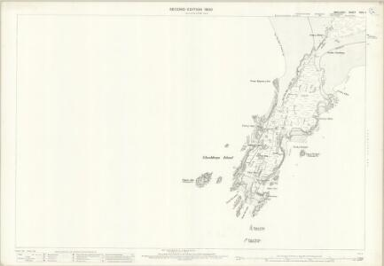Anglesey XXIV.4 (includes: Newborough) - 25 Inch Map