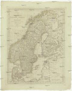 Charte von den Koenigreichen Daenemark, Schweden und Norwegen