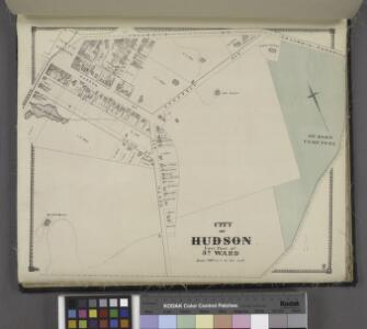 City of Hudson East Part of 3rd Ward. [Township]