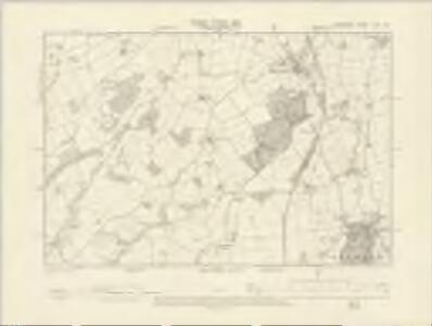 Shropshire XLIX.NW - OS Six-Inch Map
