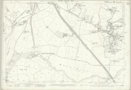 Somerset VII.10 (includes: Bitton; Hanham Abbots; Keynsham; Oldland) - 25 Inch Map