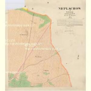 Neplachow - c5036-1-003 - Kaiserpflichtexemplar der Landkarten des stabilen Katasters