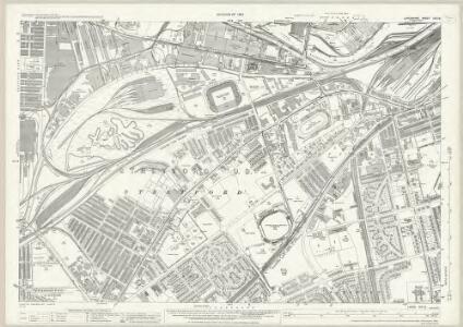 Lancashire CIV.13 (includes: Salford; Stretford) - 25 Inch Map