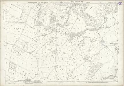 Lancashire XI.1 (includes: Angerton; Broughton West; Kirkby Ireleth) - 25 Inch Map