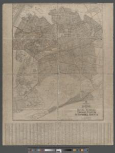 Hagstrom's Map of Queens, city of New York. House number and subway guide.