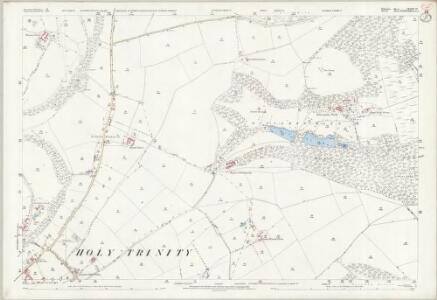 Wiltshire LXVIII.12 (includes: Donhead St Mary; Motcombe; Semley; Shaftesbury) - 25 Inch Map