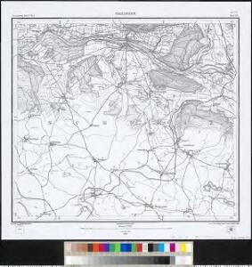 Meßtischblatt [8318] : Gailingen, 1879