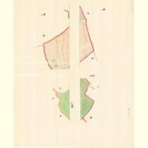 Slawkow - m2776-1-008 - Kaiserpflichtexemplar der Landkarten des stabilen Katasters