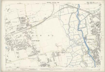 Essex (1st Ed/Rev 1862-96) LXXIII.12 (includes: Barking; East Ham) - 25 Inch Map
