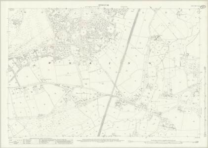 Surrey XVI.16 (includes: Woking) - 25 Inch Map