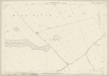 Yorkshire CXLIV.1 (includes: Cottam; Kirby Grindalythe; Luttons; Sledmere) - 25 Inch Map