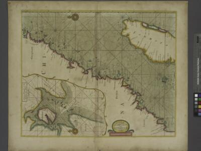 A large draught of the coast of CHINA from Amoye to Chusan with harbour of amoye at large