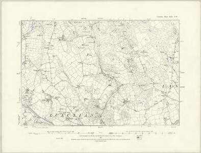 Cornwall XLII.SE - OS Six-Inch Map