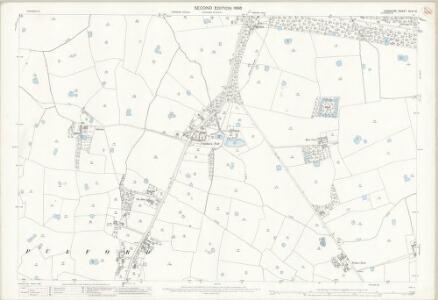 Cheshire XLVI.10 (includes: Dodleston; Eaton; Eccleston; Poulton; Pulford) - 25 Inch Map