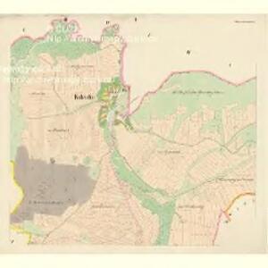 Kokschin (Kokssin) - c3274-1-001 - Kaiserpflichtexemplar der Landkarten des stabilen Katasters